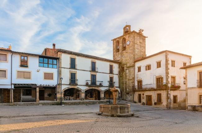 San Martin de trevejo Sierra de Gata Caceres