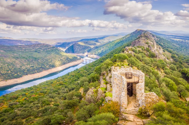 castillo monfrague cáceres