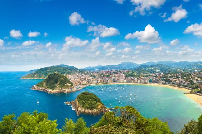 Playa de La Concha San Sebastián
