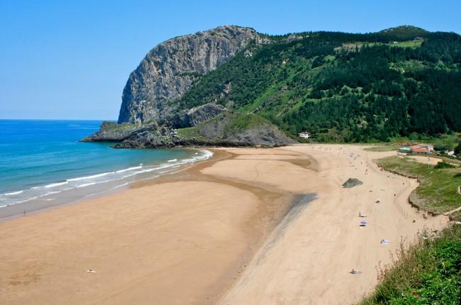 Playa de Laga Bizkaia