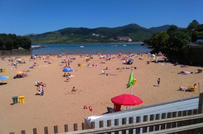 Playa de Laidatxu Mundaka