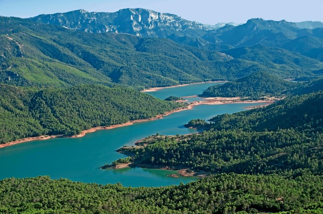 Embalse del Tranco de Beas Jaén