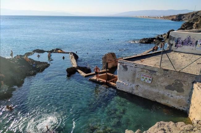 Esclusas de las Salinas de Cabo de Gata Almeria