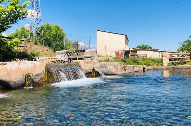 Nacimiento del río Arbuniel Jaén