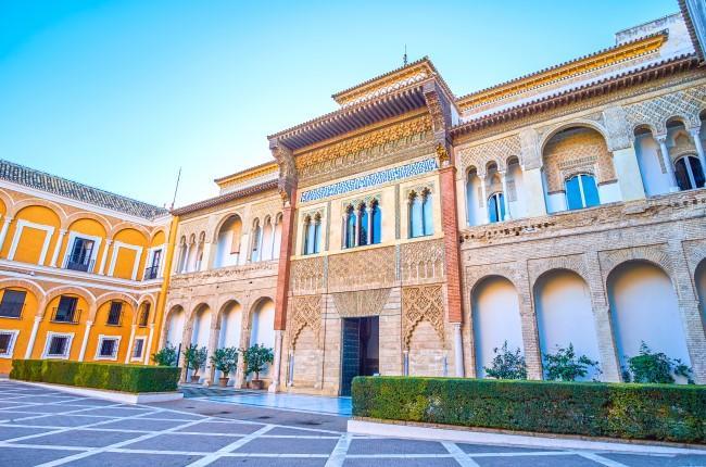 Palacio del Rey Don Pedro Sevilla