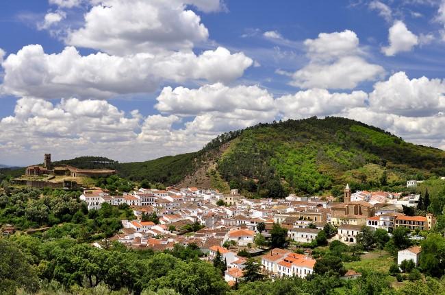 Almonaster la Real Huelva Andalucía