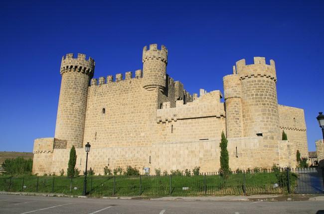 Castillo de Olmillos de Sasamón Burgos