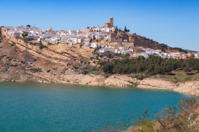 Iznájar Córdoba Andalucía