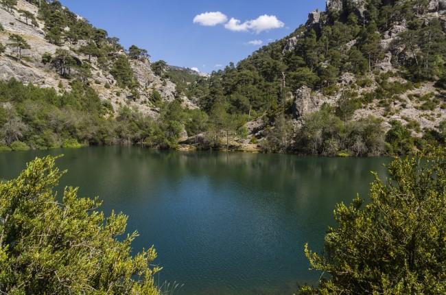 laguna aguas negras ruta rio borosa