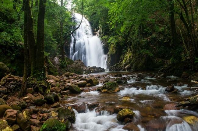 Cascada de Xorroxin valle de baztan