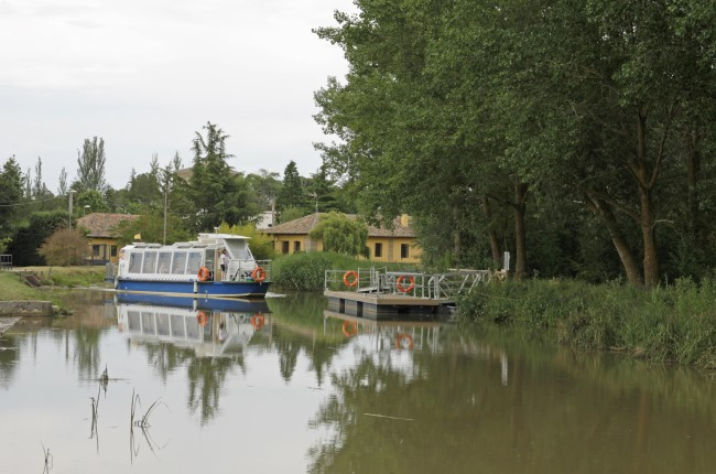 Crucero Canal de Castilla Valladolid