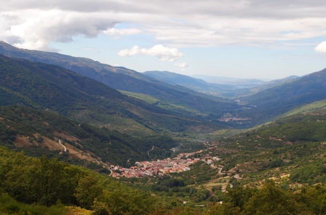 Mirador valle del Jerte