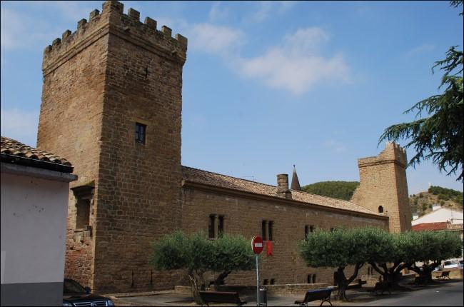 Palacio fortificado del príncipe de Viana Navarra
