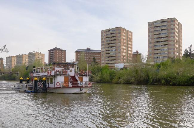 Pisuerga en barco Valladolid
