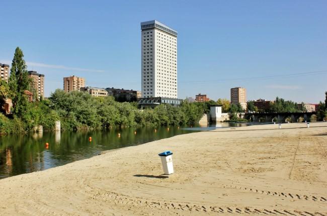Playa fluvial Valladolid