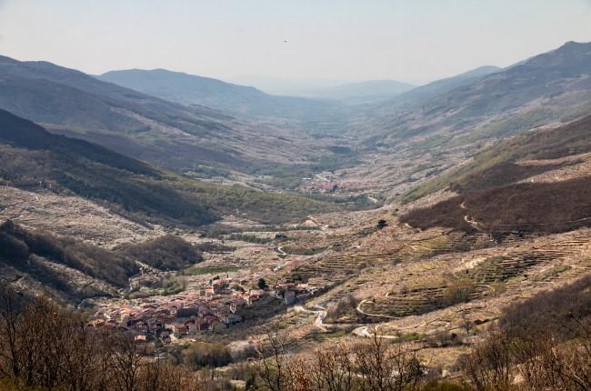 mirador de tornavacas valle del jerte