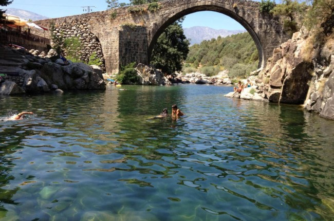 piscinas naturales valle del jerte