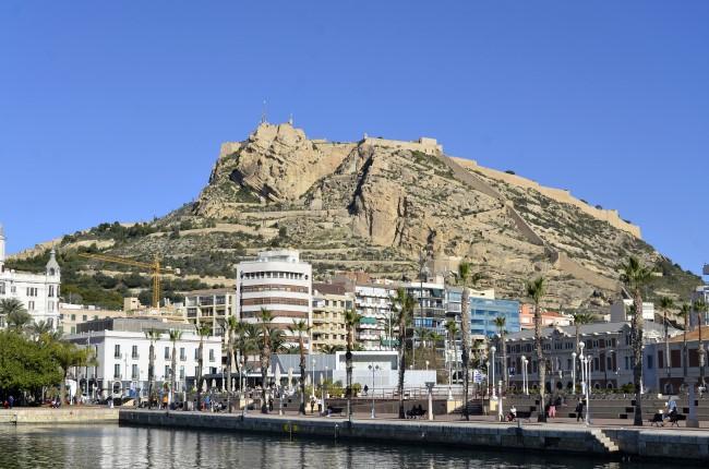 Castillo de Santa Barbara Alicante