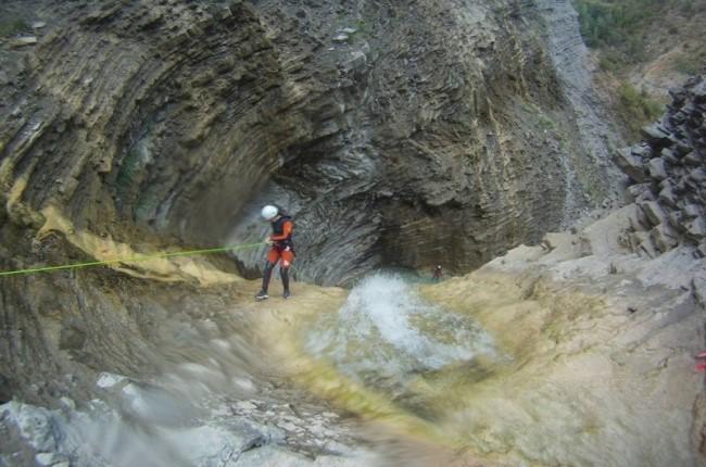 Descenso de barrancos Valle de Tena