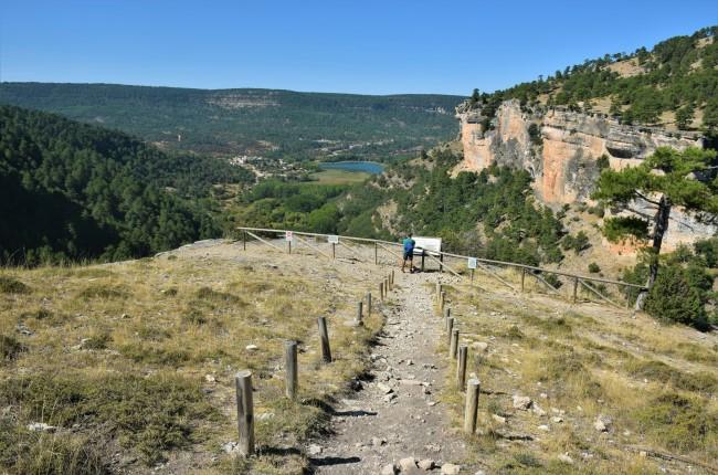 Mirador del Refrentón Ruta del Escaleron a la raya