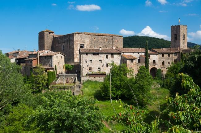 Santa Pau Cataluña