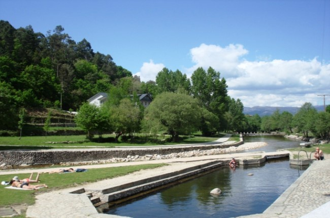 Termas río Caldo Galicia