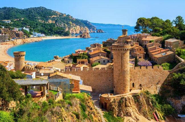 Tossa de Mar Cataluña