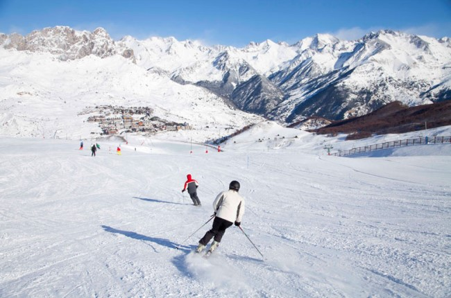 esquí formigal valle de tena