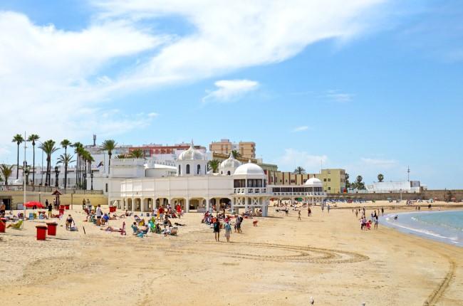 Playa La Caleta Cádiz