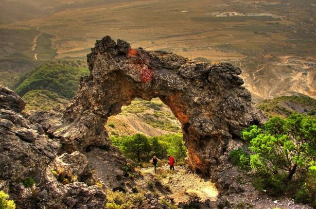 Piedra Ventana valle de Lecrín