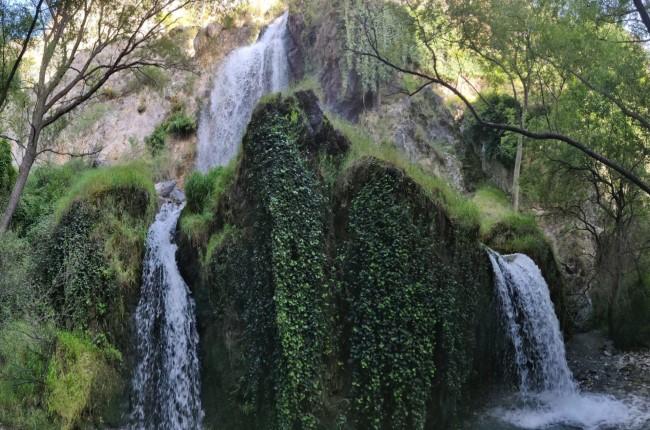 Salto de agua del Canal de Fuga