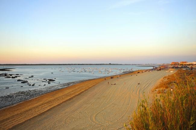 playa bajo de guía Sanlúcar de Barrameda