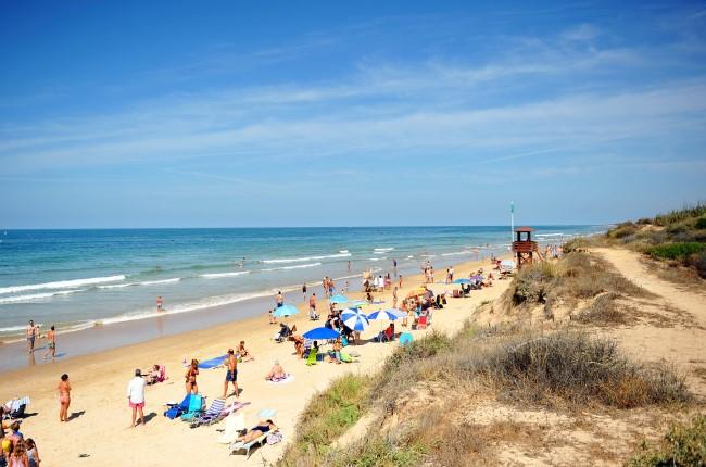 playa costa ballena Rota