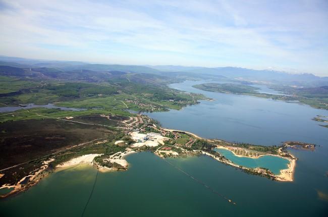 Embalse del Ebro Corconte Cantabria