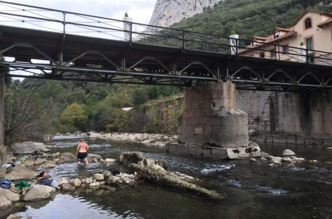 Pozas termales Río Deva Cantabria