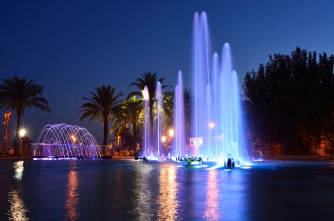 fuente Luminosa Salou Tarragona
