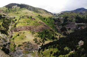Ruta de las tres cascadas en Cerler