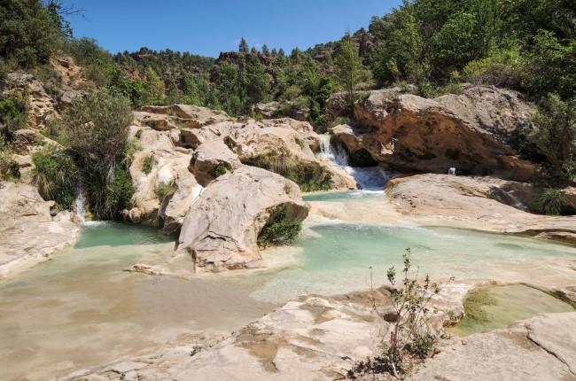 Chorreras del río Cabriel Enguídanos Cuenca