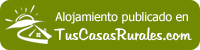Casa Zarzal en Tuscasasrurales.com
