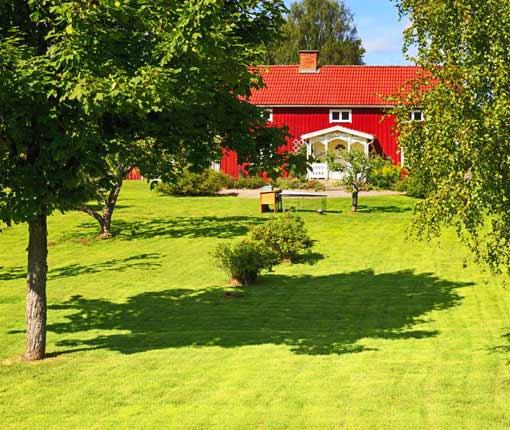 casas rurales con jardín